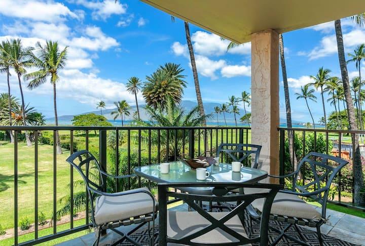 Direct 180° Ocean Front/View A/C 1-Bedroom Condo