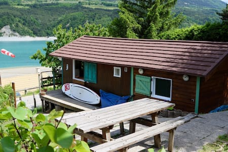 The Lake Shack (the cosy Chalet) - Treffort - Dağ Evi