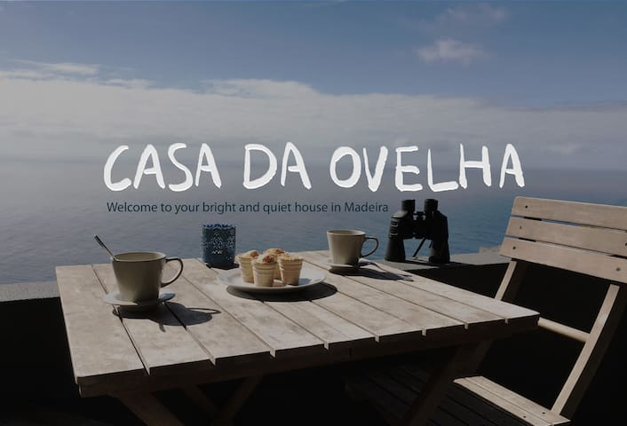 Casa da Ovelha, your bright and quiet house