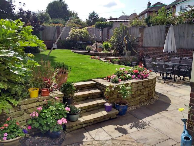 Garden from patio