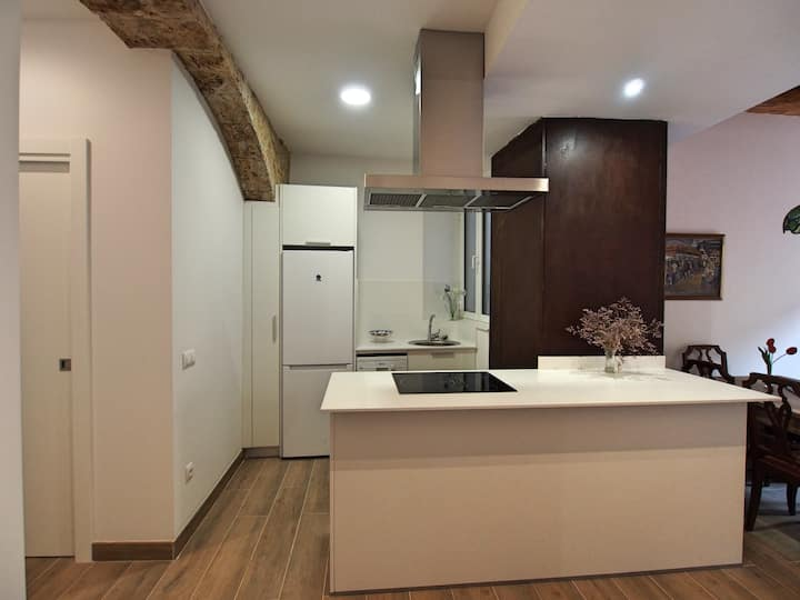 Stunning renovated apt in Besalú old town