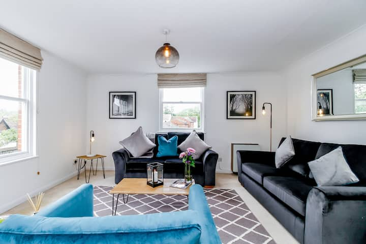 ★Stylish duplex - roof terrace in Central Oxford★
