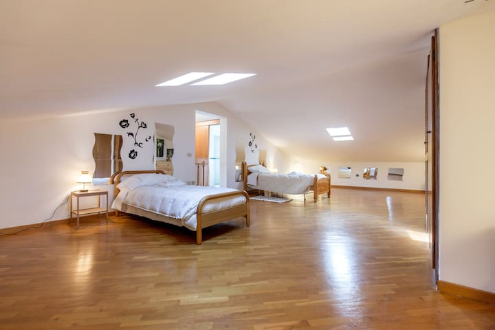 Cozy attic - Mantignano - Villa