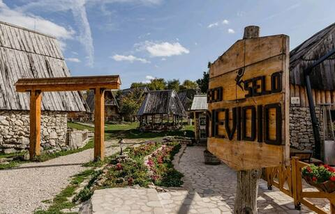 Authentic Eco Village *big huts*