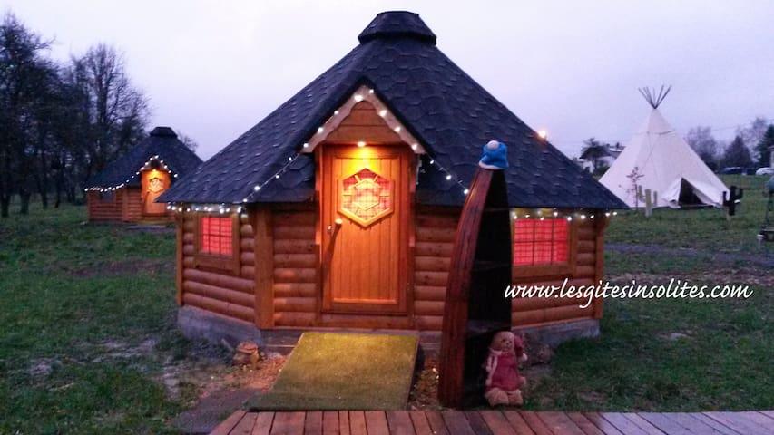 "Chalet kota chambre ""le Pêcheur"" - Gondrexange - Alpehytte"