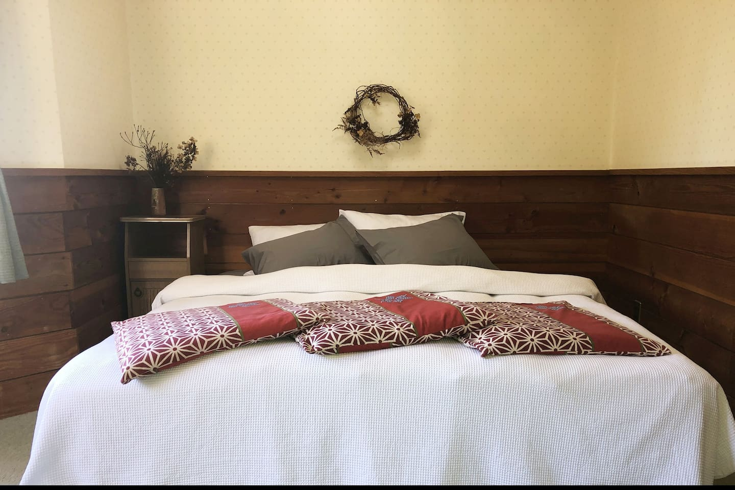 One of three delightful King Rooms with a King size bed for a blissful nights sleep
