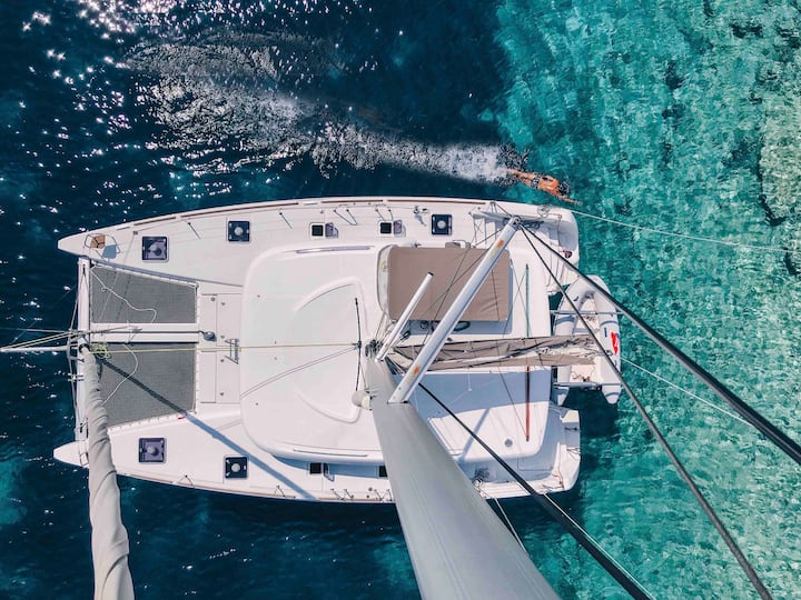 Sailing the Balearics by Luxury Catamaran