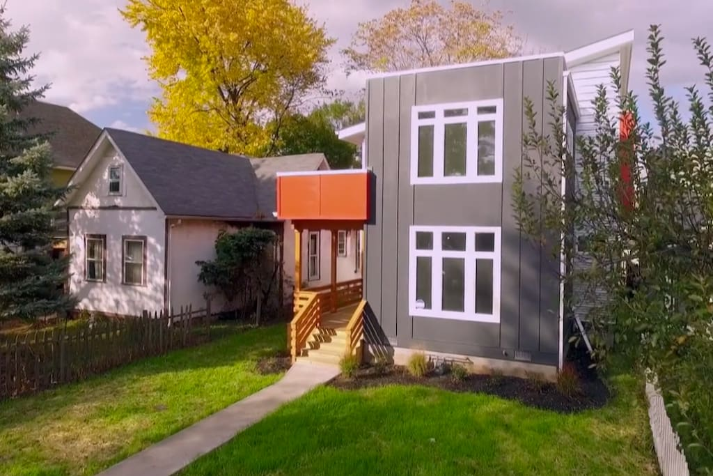 Welcome home! This Fountain Square modern home has been featured on HGTV's My Lottery Dream Home show. It's surprisingly affordable to have an amazing place to stay in a great neighborhood.