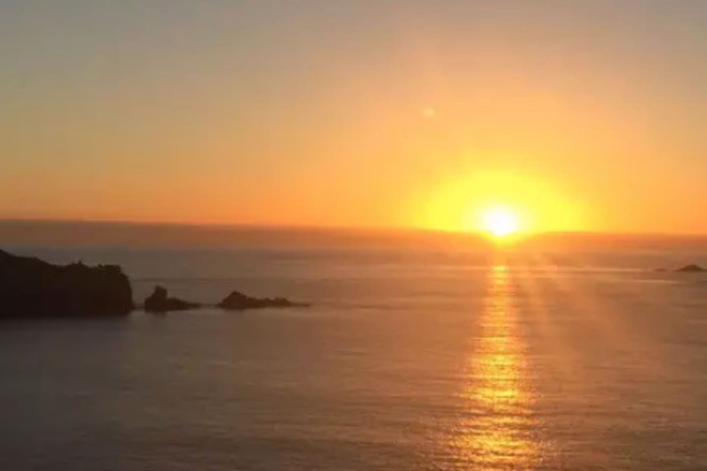 One of our regular Sunsets at Lands End.  20 mins walk from your accommodation
