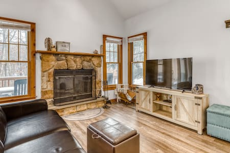 Beautiful & spacious home featuring smart TVs plus a wood-burning fireplace!
