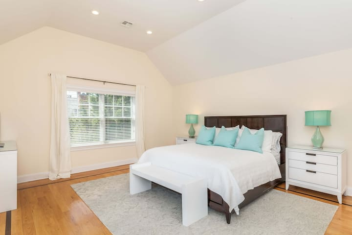 master bed upstairs