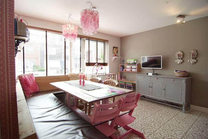The Pink lady, 3 bedroom house + roof terrace! - Amsterdam - Apartment