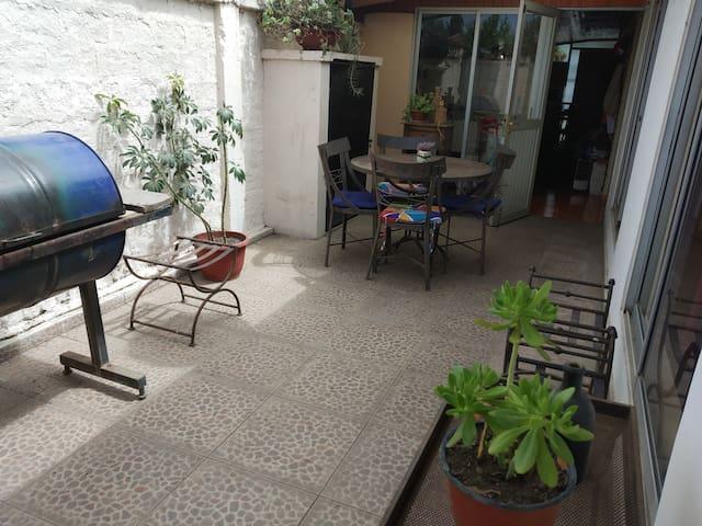 Habitación privada central desayuno wifi Rosy 1