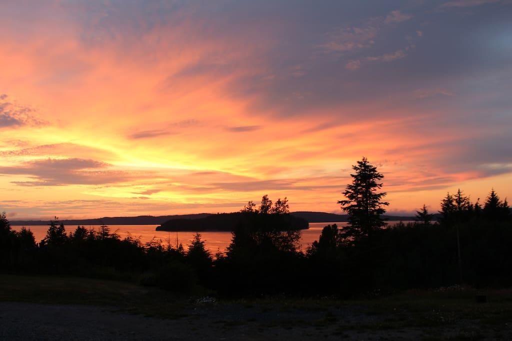 North Island Sunsets