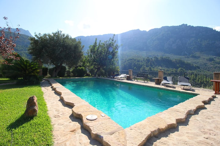 """"""" Finca SOLIVET"""" with amazing views and pool"""