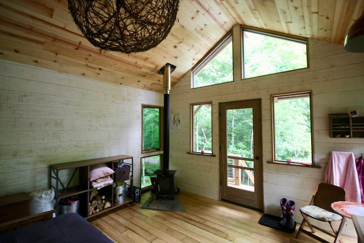 Off Grid Cabin Retreat In Blue Ridge Mountains