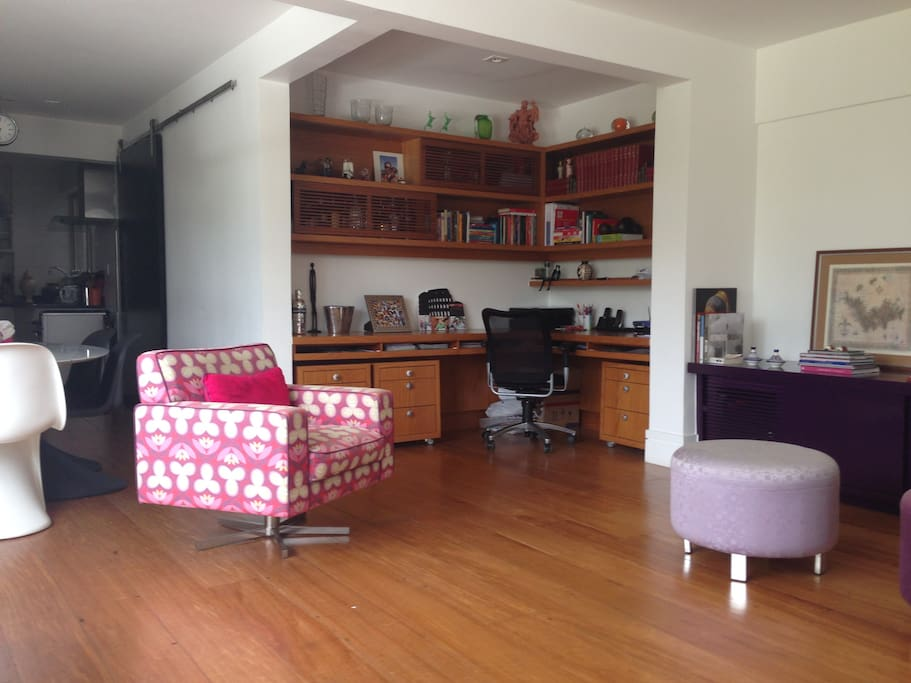 Sala de estar / escritório