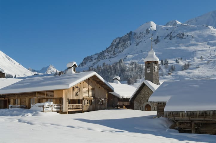 Splendid apartment next to the slopes (6p) - Le Grand-Bornand - Apto. en complejo residencial