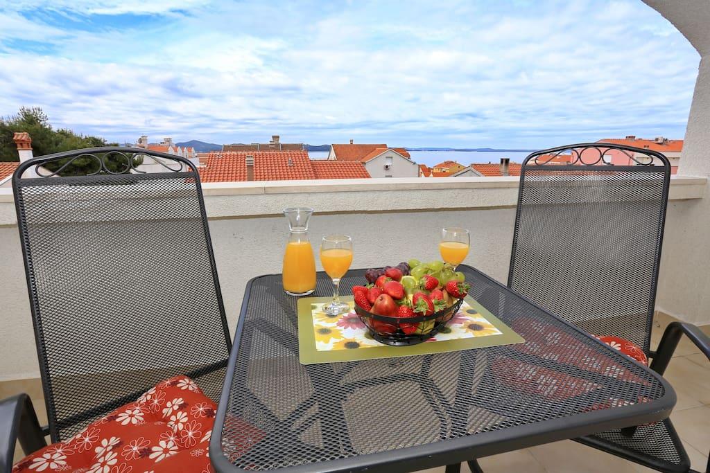 Balcony/Sea view