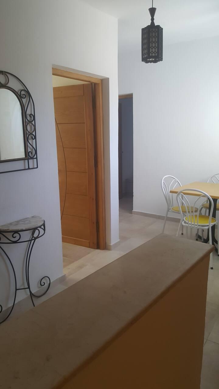 Magnifique appartement équipé  à Midoun