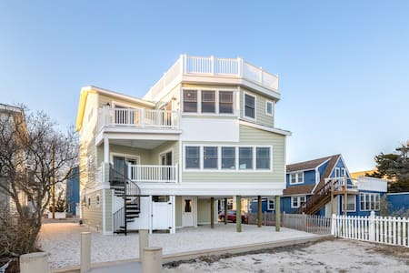 Brand New Waterfront Home on LBI! - Ship Bottom - Σπίτι