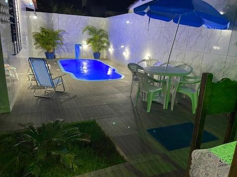 Casa de Praia do Mágico Quarentena / Tamandaré-PE