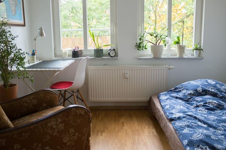 Gemütliches Zimmer - zentral und trotzdem ruhig - Jena - Selveierleilighet
