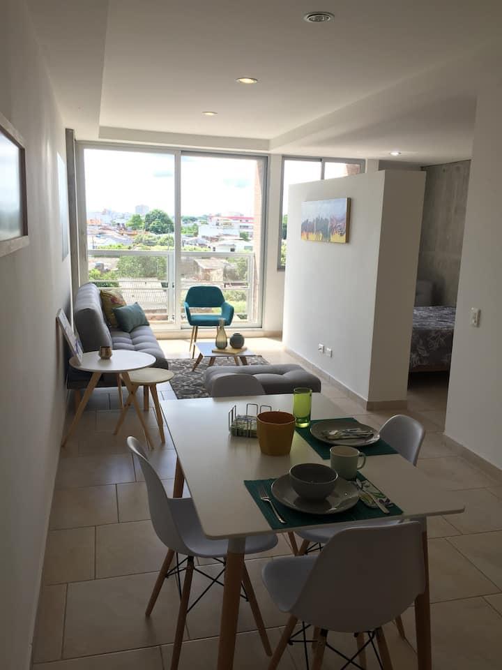 Lujoso y Moderno Apartamento en Barranca
