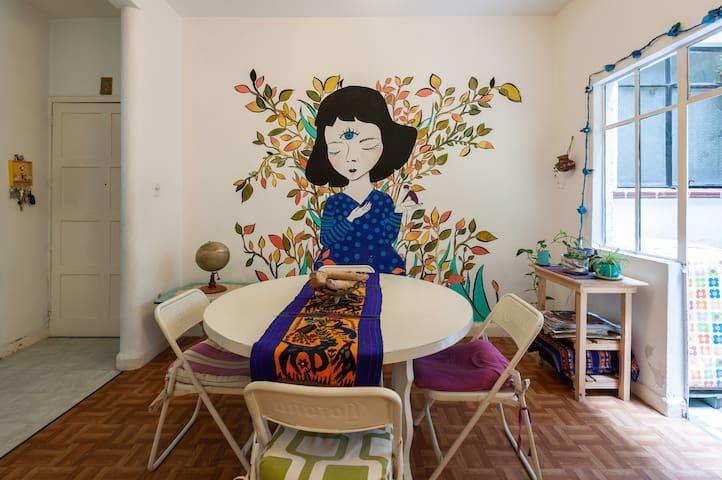 Casa Flora. Una casita llena de magia.