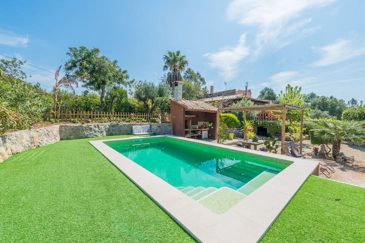 CAN SETI  - Villa with private pool in Alaro.