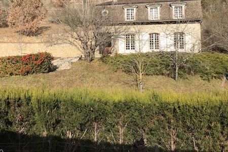 Maison de famille à la Canourgue en Lozère - La Canourgue - Casa
