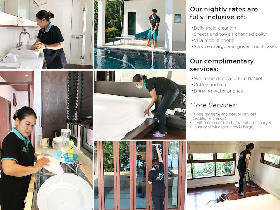 Krabi Villa service