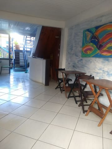 Cómodas habitaciones en Manguinhos
