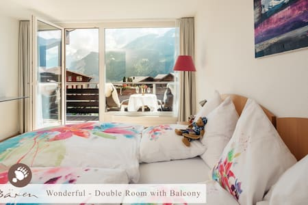Wonderful - Double  room with Balcony & Breakfast