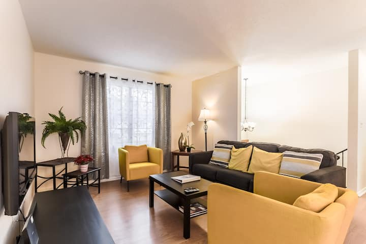 Comfortable and elegant 3BDR duplex - unit #1
