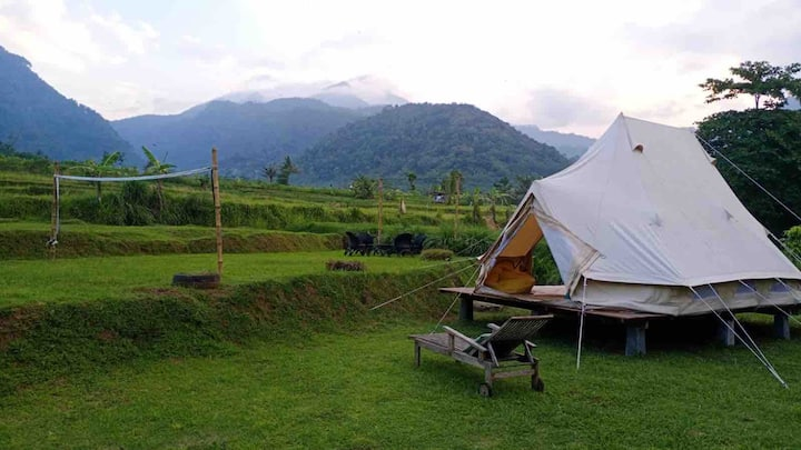 Glamping Sitinggil Mountain-view