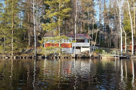 Summer cottage by the lake Kuolimo
