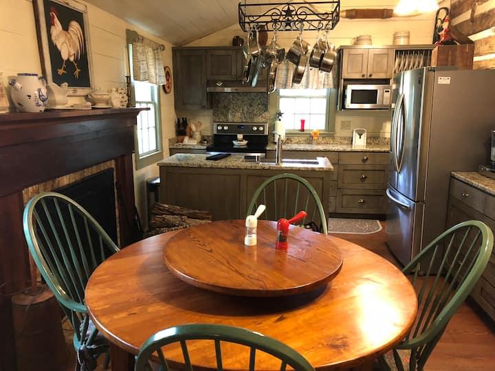 Tripple Creek Ranch Log House