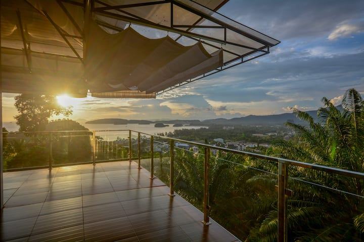 Exclusive Mountain Top Villa in Krabi