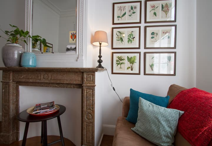 Cosy 19th c townhouse near Central Station+parking