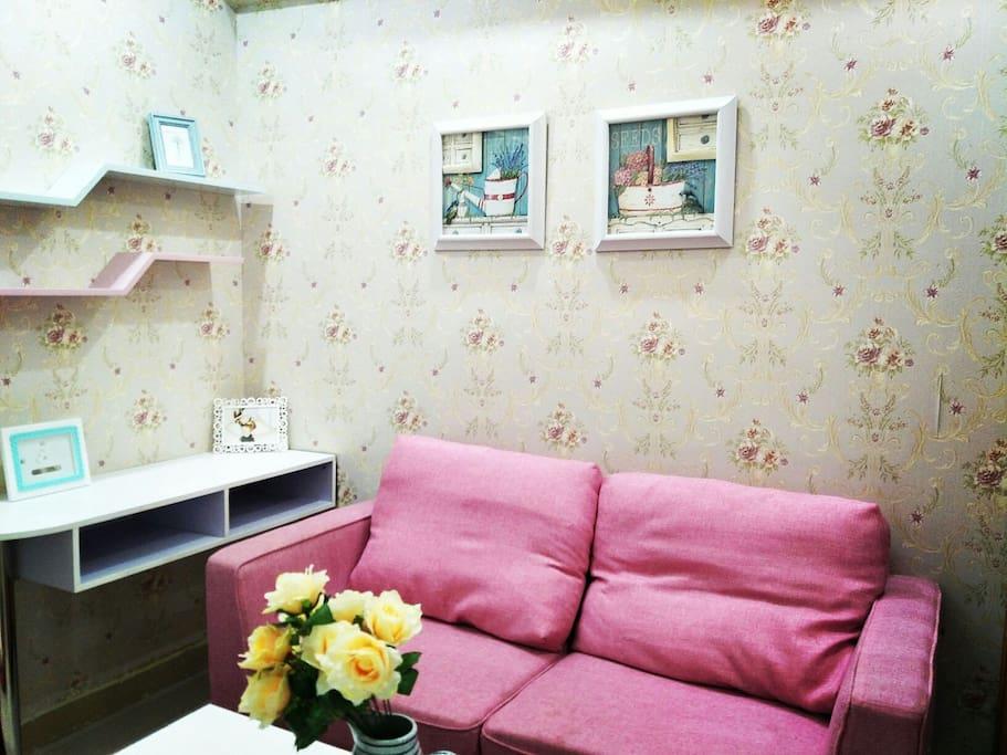 温馨的家具和摆设