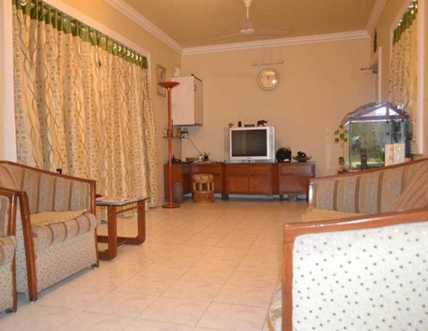 This is the main entry to home, our living room