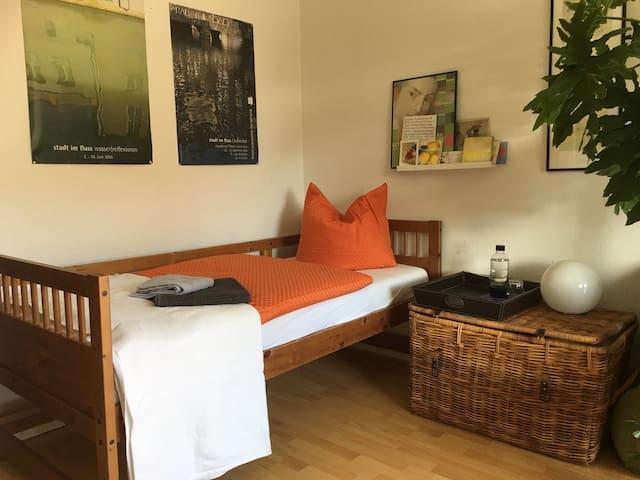 Gemütliches Zimmer für eine Person