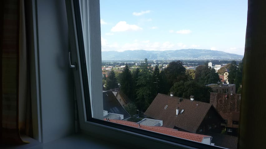 Lovely room with view to the Lake of Constance - Dornbirn - Pis