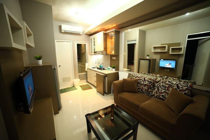 5Mins to Mall Kelapa Gading, 2 BR - Kelapa Gading - Apartament
