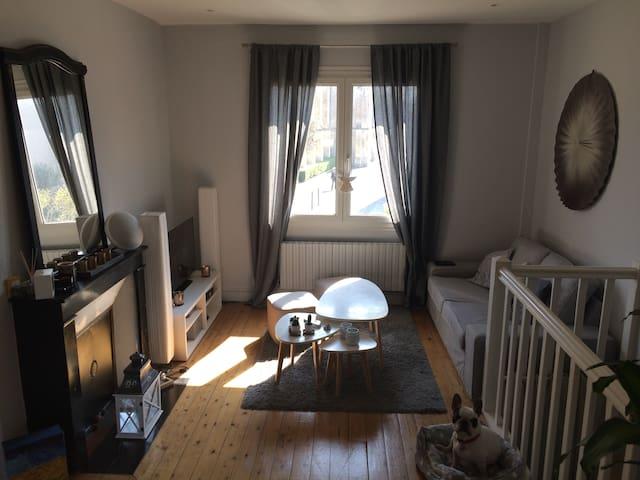 Chambre au calme dans un charmant F3 à Caen Venoix - Caen - Daire
