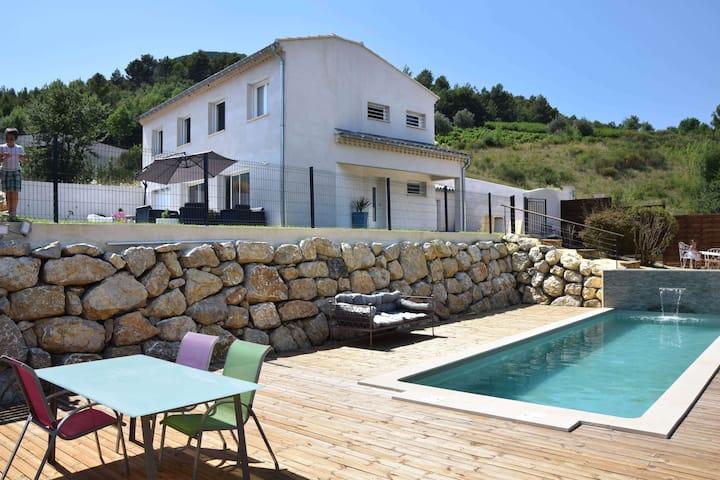 Le Mas Kalicia - Belle villa de 170m² avec piscine