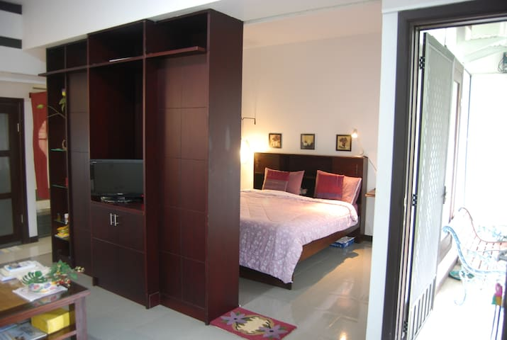 View to sleeping area