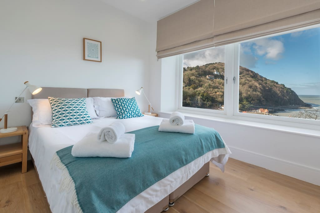 Bedroom with a view!