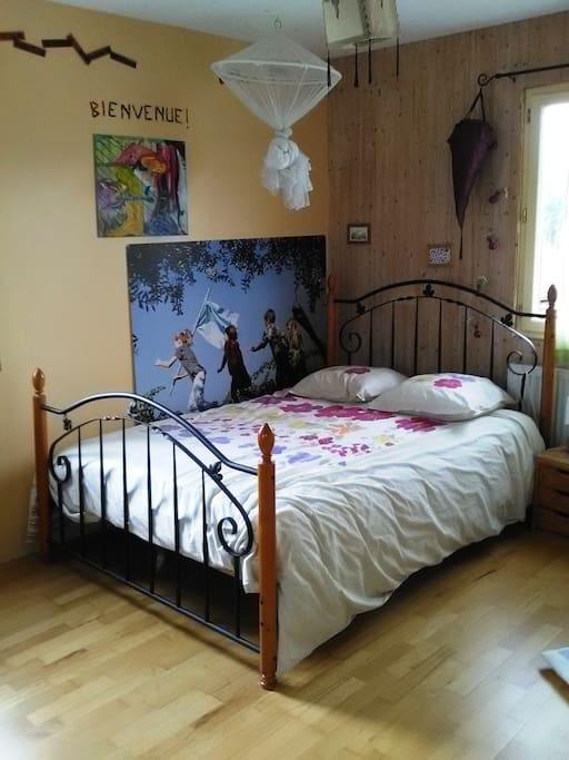 jolie chambre 2 colorée à 25 €